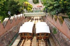 Ferrocarril funicular de Budapest Fotos de archivo
