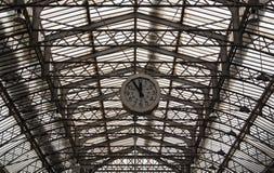 Ferrocarril Gare de l'Est de París Imágenes de archivo libres de regalías