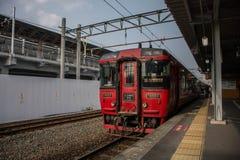 Ferrocarril japonés Imagen de archivo