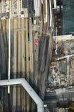 Ferrocarril: Mirada abajo de torre del NC Imágenes de archivo libres de regalías