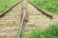 Ferrocarril ¡Muévase adelante! Foto de archivo libre de regalías
