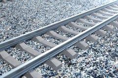 Ferrocarril o ferrocarril, ferrocarril de acero para los trenes Viaje del ferrocarril, turismo ferroviario Concepto del transport ilustración del vector