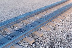 Ferrocarril o ferrocarril, ferrocarril de acero para los trenes Viaje del ferrocarril, turismo ferroviario Concepto del transport libre illustration