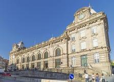 Ferrocarril Oporto Portugal del bento del sao Fotos de archivo libres de regalías