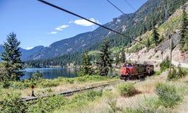 Ferrocarril pacífico canadiense Foto de archivo