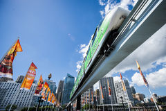 Ferrocarril suburbano de Sydney Fotos de archivo