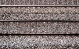Ferrocarril típico Fotografía de archivo libre de regalías