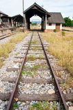Ferrocarril tailandés Foto de archivo
