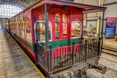 Ferrocarril Tasmania del desierto de la costa oeste Foto de archivo