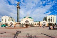 Ferrocarril transiberiano de Krasnoyarsk foto de archivo