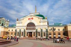 Ferrocarril transiberiano de Krasnoyarsk Imagenes de archivo