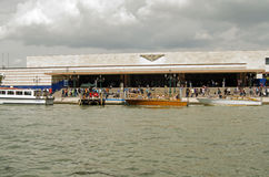Ferrocarril, Venecia Imagenes de archivo
