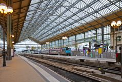 Ferrocarril, viajes, Francia foto de archivo