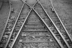 Ferrocarril viejo Fotos de archivo libres de regalías