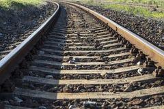 Ferrocarril viejo Fotografía de archivo