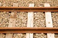 Ferrocarril viejo Foto de archivo
