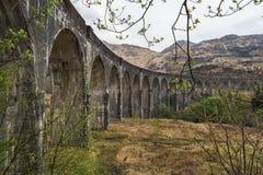 Ferrocarril viejo del tren imagenes de archivo