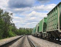 Ferrocarriles Fotografía de archivo libre de regalías