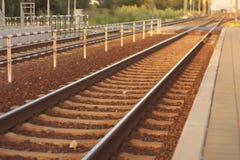 ferrocarriles Fotos de archivo