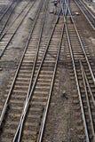 Ferrocarriles foto de archivo