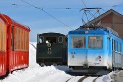 Ferrocarriles de Rigi Foto de archivo