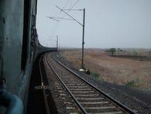 Ferrocarriles indios foto de archivo libre de regalías