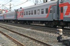 Ferrocarriles rusos (RZD) Foto de archivo libre de regalías