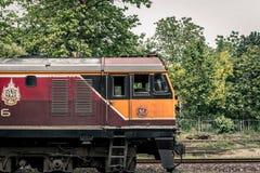 Ferrocarriles tailandeses Imágenes de archivo libres de regalías