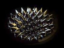 Ferrofluid magnetico Immagini Stock