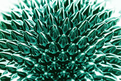 Ferrofluid. Photo of an interesting, colorful chemical ferrofluid Royalty Free Stock Photography