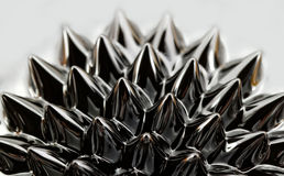 Ferrofluid. Photo of an interesting, colorful chemical ferrofluid Royalty Free Stock Photo