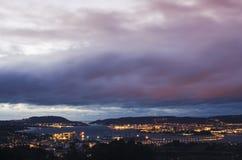 Ferrol imagem de stock