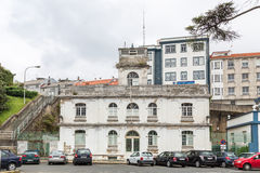 Ferrol, promenade Stock Foto's