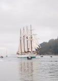 FERROL, SPAIN - FEBRUARY 15: Spanish Navy Juan Sebastian de Elcano Royalty Free Stock Image