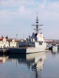 FERROL, SPANIEN 16. FEBRUAR: Fregatte F-103 Stockbilder
