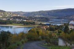 Ferrol stuary. Royalty Free Stock Photography