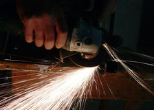 Ferronnier, spirale Photo stock