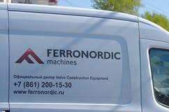 Ferronordic maszyny Obraz Royalty Free