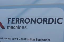 Ferronordic maszyny Fotografia Stock
