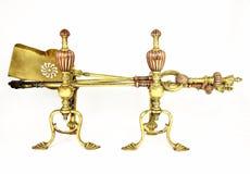 Ferros de incêndio de Nouveau da arte Fotografia de Stock Royalty Free