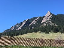 Ferros de passar roupa de Colorado imagens de stock royalty free