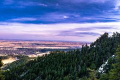 Ferros de passar roupa em Boulder, Colorado imagens de stock royalty free
