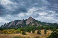 Ferros de passar roupa em Boulder Colorado fotos de stock royalty free