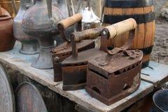 Ferros velhos Imagem de Stock