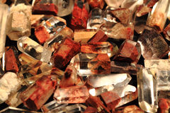 Ferrous crystals collection Royalty Free Stock Photography