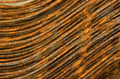 Ferrous hair. Ferrous scrap metal for recycling Stock Photography