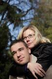 Ferroutage de couples Image libre de droits