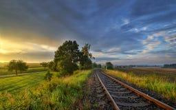 In ferrovia Fotografia Stock Libera da Diritti