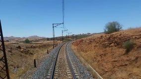 Ferrovia video d archivio
