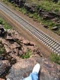 Ferrovia Immagine Stock